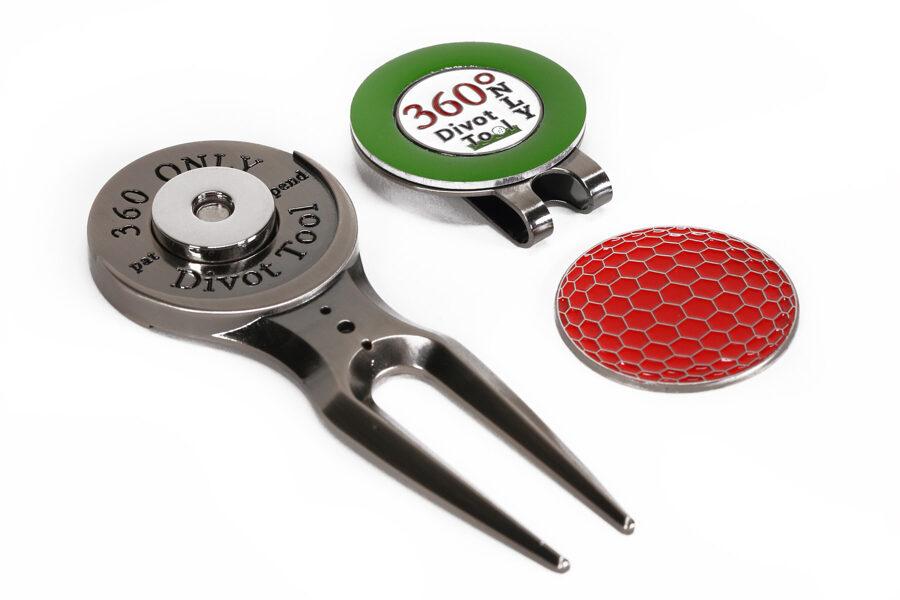 Magnetic Divot Tool w/ Ball Marker